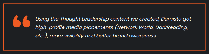 media placement quote