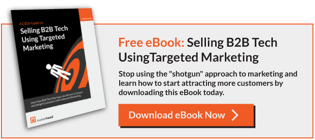 Free eBook: Selling B2B Tech Using Targeted Marketing
